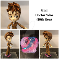 Chibi Doctor Who by TrotLoeil
