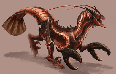 Splice - Lobsteraptor by Kezrek