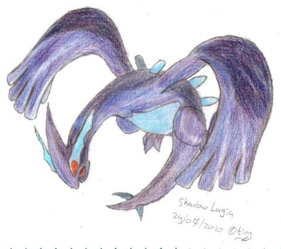 Shadow Lugia, colour by TintjeMadelintje101