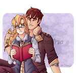 (AT) Avarus and Saira by TheEccentricCitric