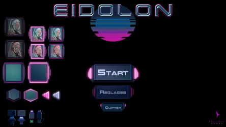[Game Prototype] Game UI for Eidolon by PhaethonGames