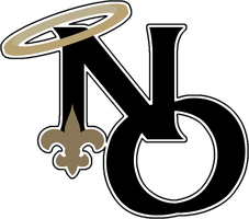 New Orleans Saints Alt logo by Djray1985