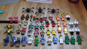 LEGO DOOM : Mars in Bricks MONSTERS AND CHARACTERS by Digger318