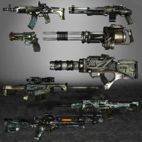 Singularity Weapons by ArmachamCorp