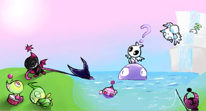 Chao world by TheEyeMonster