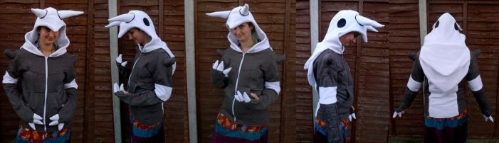 Aggron hoodie by TrafficConeCreations