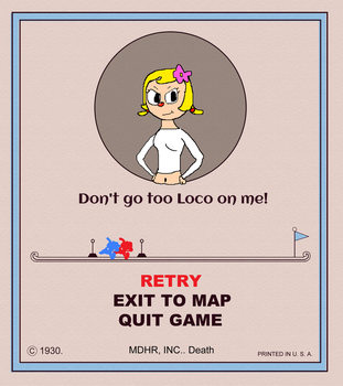 [REQUEST]: Loco's Game Over Card by Spongecat1