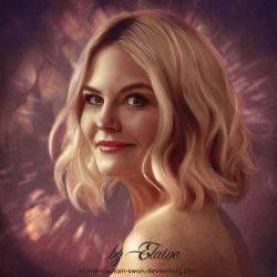 Jennifer Morrison by Elaine-captain-swan