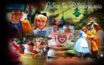 Alice in Disneyland by margflower