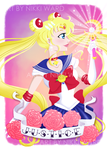 Sailor Moon the JUST by NikkiWardArt