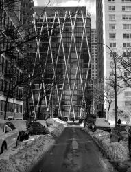 West 68th Street in Snow by steeber