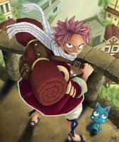 fairy tail cover chap1 - colo BKonly by BKonly