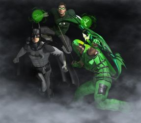 The ring, the arrow and the bat by hiram67