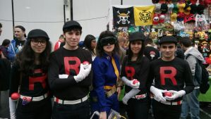Fallout // Team Rocket Cosplay by Fraulein-Kazz
