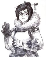 [Overwatch] MEI by Lee-JenG