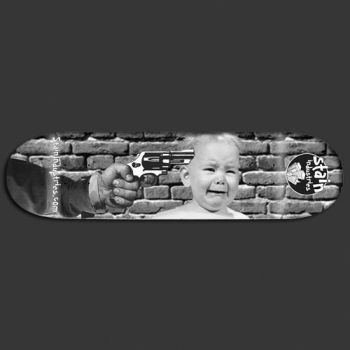 CryBaby skateboard deck by MadRob