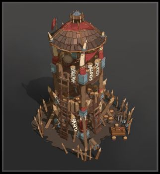 Orc Watchtower by SebastianWagner