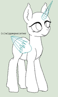 pony base free by mlppegasister