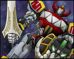 MEGAZORD by seraphimon83