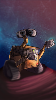 Wall-e by Galidor-Dragon