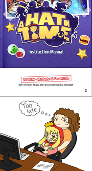 A Hat in Time: Manual, too late. Eng by Natalya-Chan