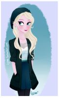 ...Hipster Elsa... by Lysna