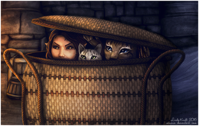 Sneak Thieves by Isriana