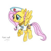 EQ:TW Fluttershy, the Element of Kindness by UlyssesGrant