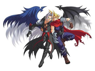 KH: Two Winged Angel by Risachantag