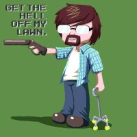 Paul - Get off my Lawn by MechanicalE