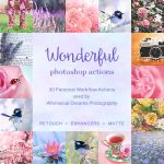 NEW: Wonderful Photoshop Actions (30 Actions) by Whimsical-Dreams