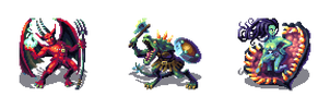 Classic RPG Monster Set by Cyangmou