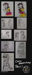 Coco - Sketch doodle dump by twinscover