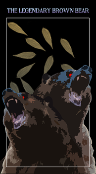 The Legendary Brown Bear by aztarial