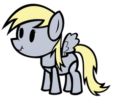 Paper Pony Derpy Hooves by MLP-Scribbles