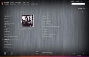 Harmony 0.2b: A Zune Theme by the-negative