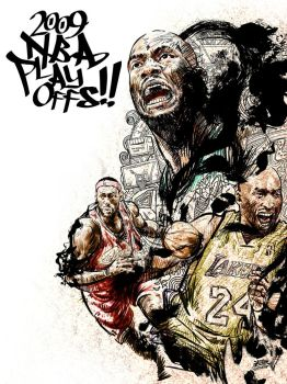 2009 NBA PLAYOFFS by kwangki