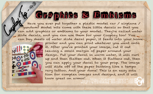 Cosplay Tip 43 - Graphics and Emblems by Bllacksheep