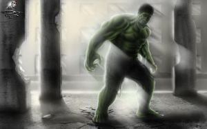 The Incredible Hulk by Unreal-Forever