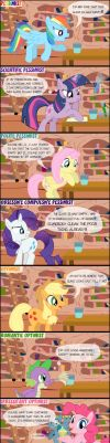 MLP: The Half Filled Glass by Yudhaikeledai