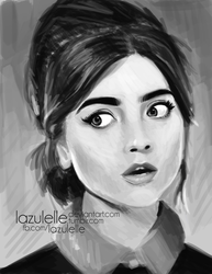 Jenna Louise Coleman by Lazulelle
