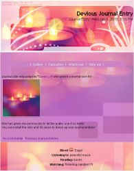 Candle's lights Journal Skin by mxlove