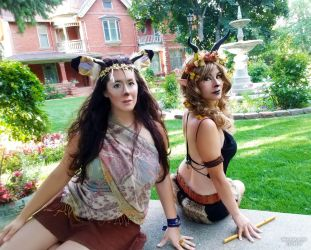 Fauns on Friday by HeatherAfterCosplay