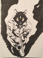 Hell Wolf by bornsoulless