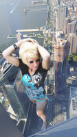 From the Top of the Tower - Jessica Nigri by Rocketmangts