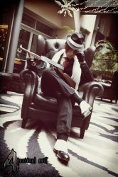 Leon S. Kennedy - Gangster from Resident Evil 4 by Akiba91