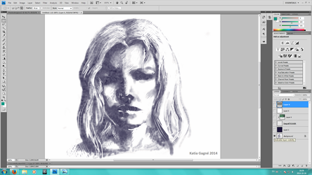 Photoshop face by Katia-Gagne