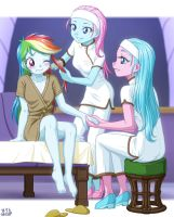 Dashie's First Spa by uotapo