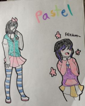 pastel babes by AdorableEvil29