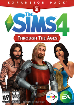 The Sims 4 - Through The Ages EP (Fan Art) by HazzaPlumbob